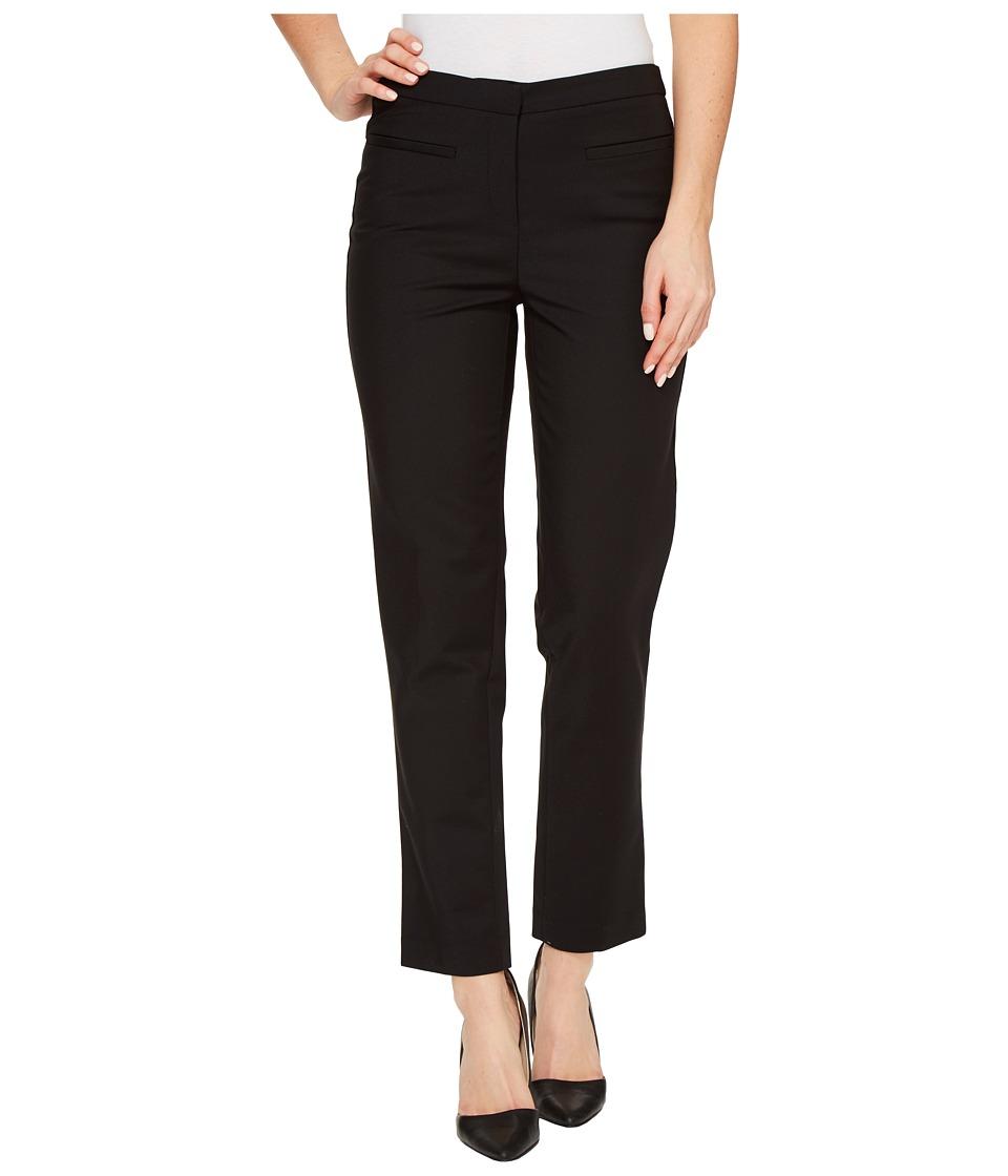 Ellen Tracy - Welt Pocket Slim Pants (E Black) Women's Casual Pants