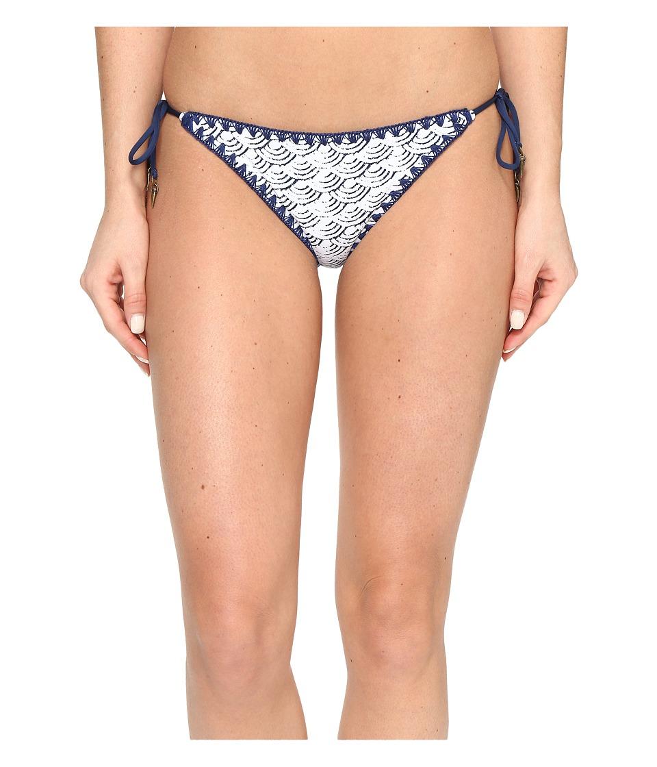 Dolce Vita Cloud Nine Tie Side Pants Bottom with Whipstitch (Dusk) Women