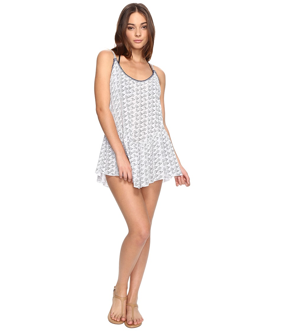 Dolce Vita Cloud Nine Mini Dress Cover-Up with Whipstitch (Dusk) Women