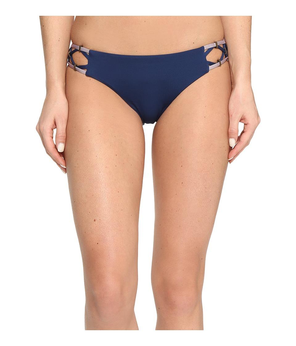 Dolce Vita Solids Bottom with Beaded Side Straps (Dusk) Women