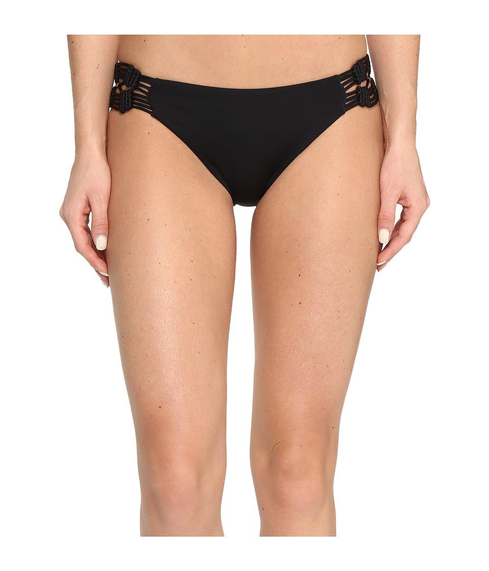 Dolce Vita Solids Macrame Bottom (Black) Women