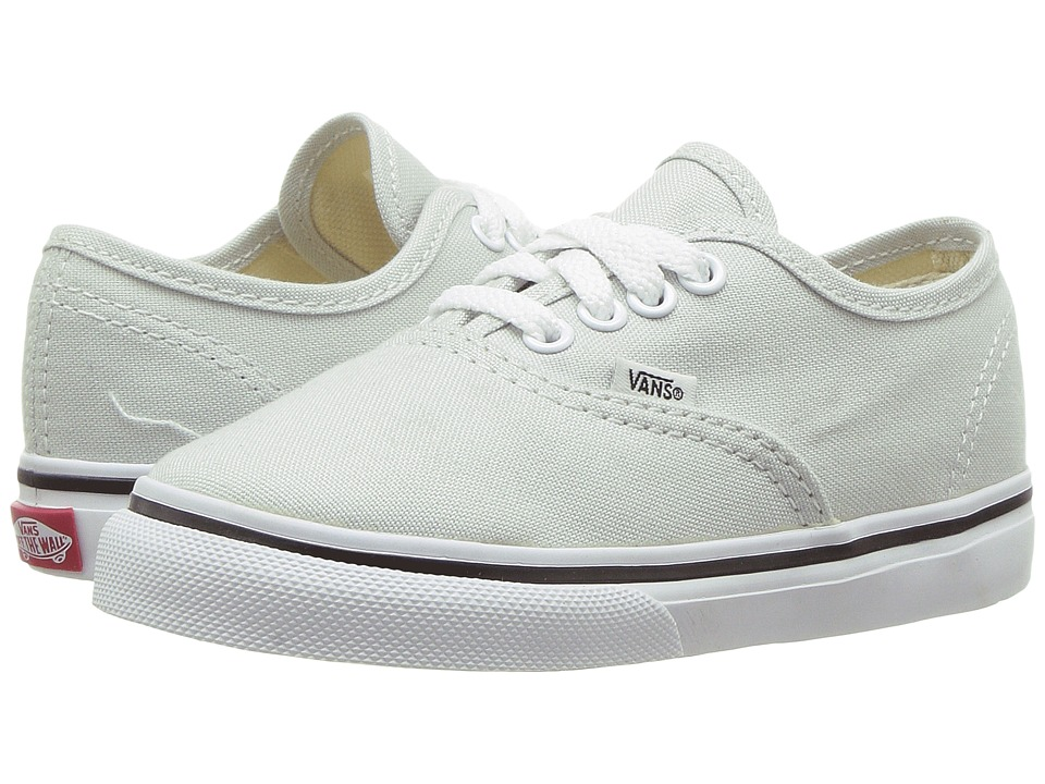 Vans Kids Authentic (Toddler) (Ice Flow/True White) Girls Shoes