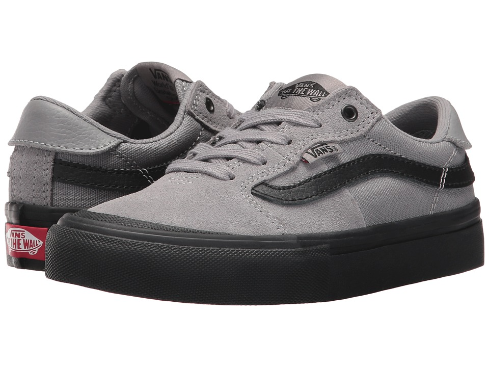 Vans Kids - Style 112 Pro (Little Kid/Big Kid) (Gunmetal/Black) Boys Shoes