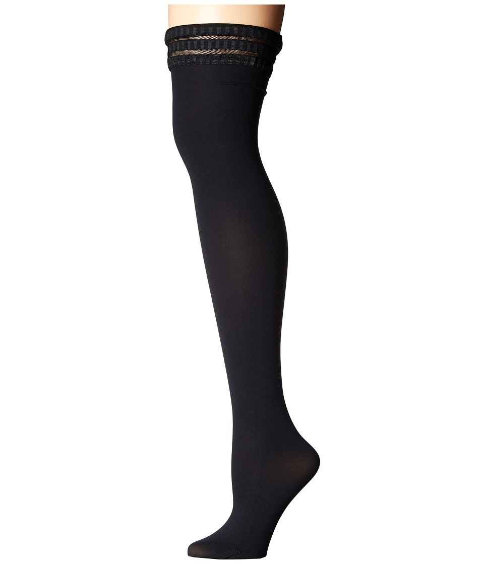 Falke - Damen Stay-Up (Black) Knee high Hose