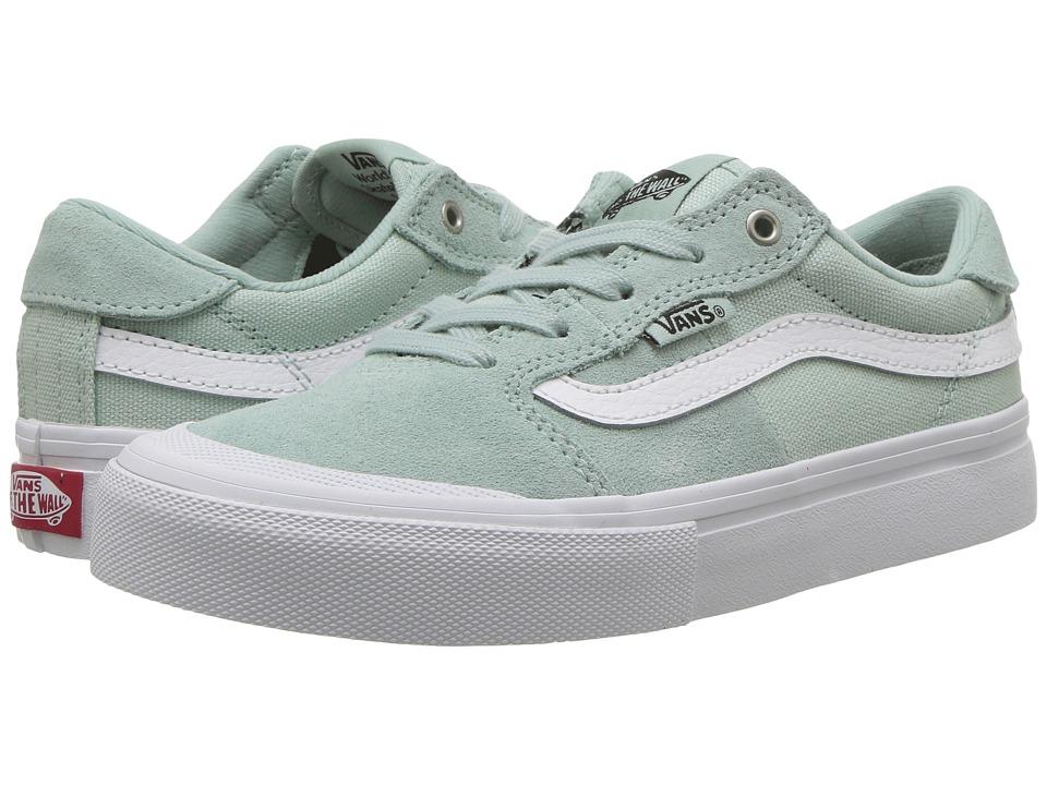Vans Kids - Style 112 Pro (Little Kid/Big Kid) (Harbor Gray/White) Kids Shoes