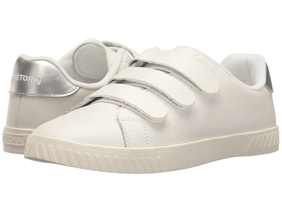 Tretorn Carry 2 (Vintage White/Silver) Women's Shoes