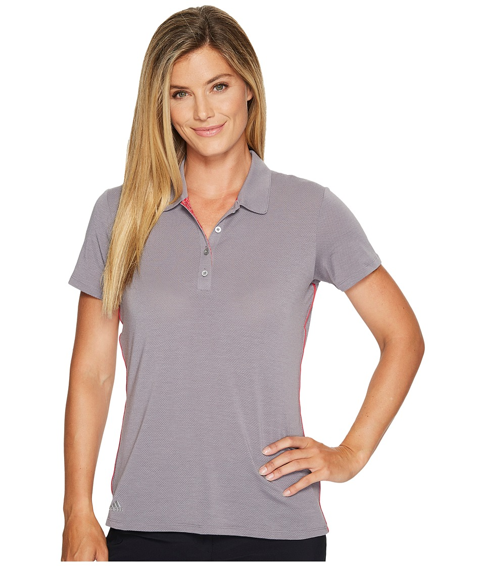 adidas Golf - Rangewear Polo (Trace Grey) Women's Short Sleeve Pullover