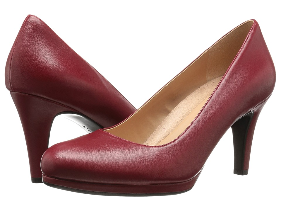 Naturalizer - Michelle (Red Leather) High Heels