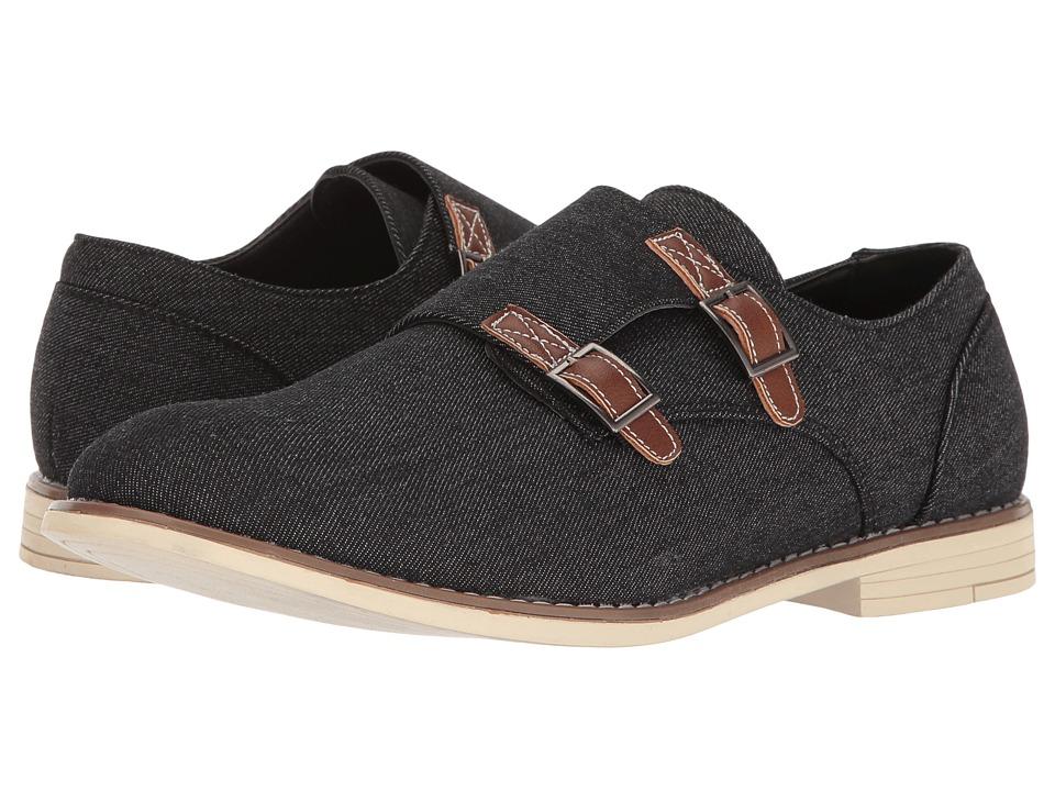 UNIONBAY - Preston (Black/Denim) Men's Shoes