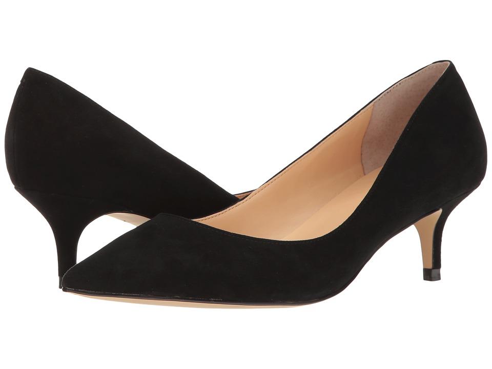 Ivanka Trump - Wyle (Black Suede) Women's 1-2 inch heel Shoes