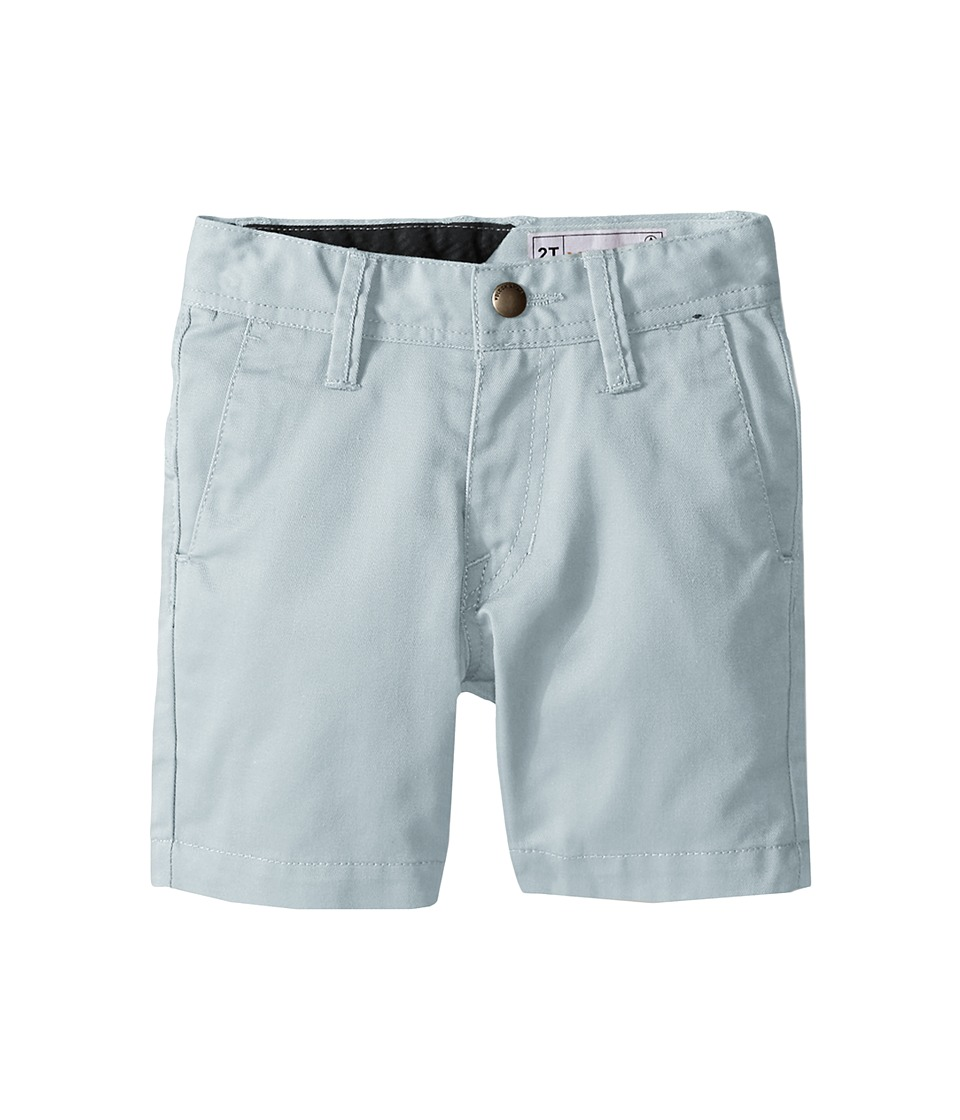Volcom Kids - Frickin Chino Shorts (Toddler/Little Kids) (Cloud Blue) Boy's Shorts