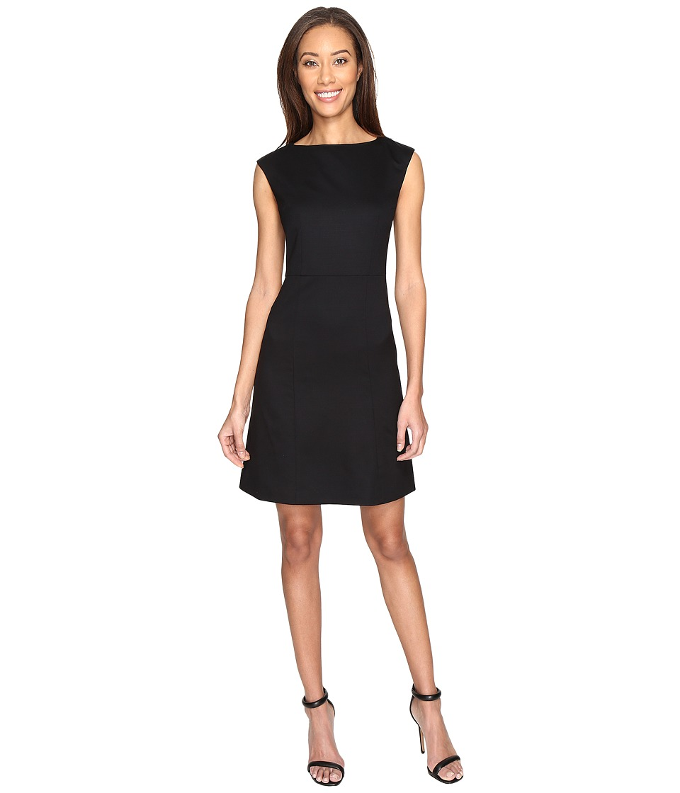 Pendleton - Ultra 9 Stretch Wool Harrow Dress (Black Ultra 9 Stretch Worsted) Women's Dress