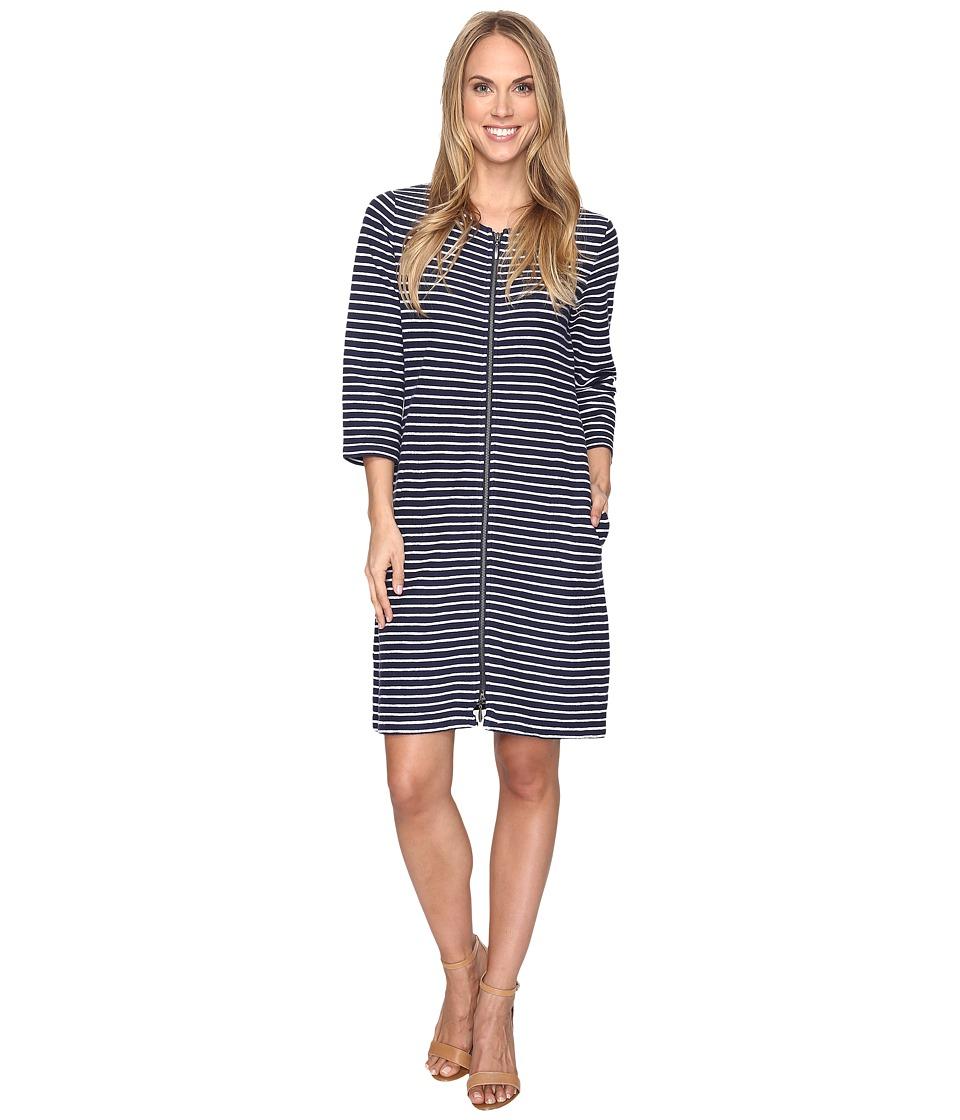 Pendleton - Lola Stripe Dress (Tartan Navy/White) Women's Dress