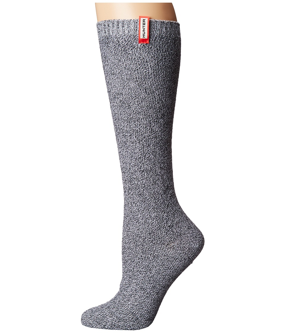 Hunter - Original Underknit Mouline Sock (Bright Lilac) Women's Crew Cut Socks Shoes