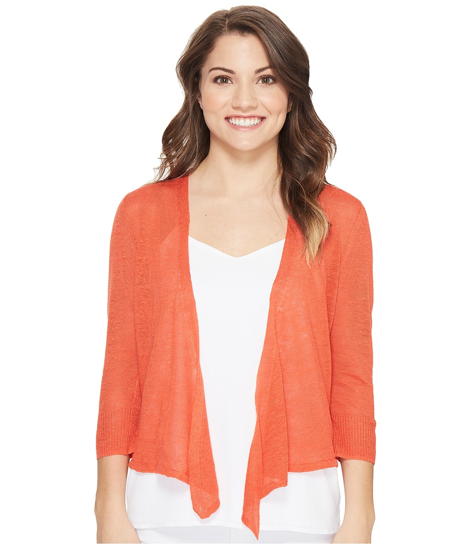 NIC+ZOE - Petite 4 Way Cardy (Cinnabar) Women's Sweater