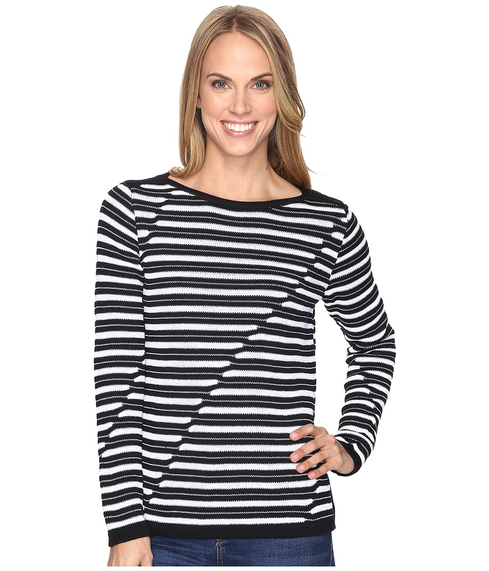 Pendleton - Marin Pullover (Black/White) Women's Sweater