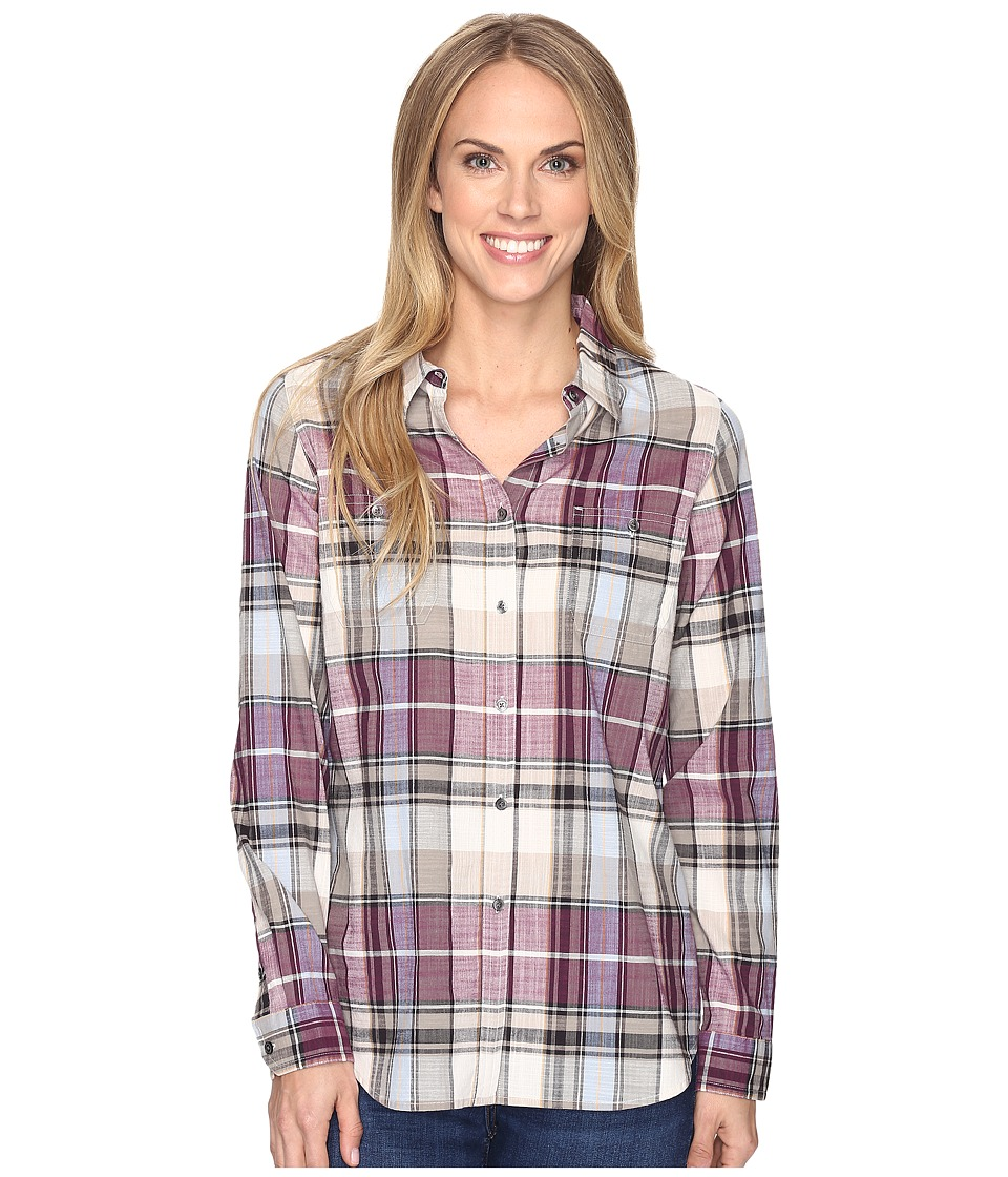 Pendleton - Sierra Plaid Shirt (Riverstone Plaid) Women's Long Sleeve Button Up