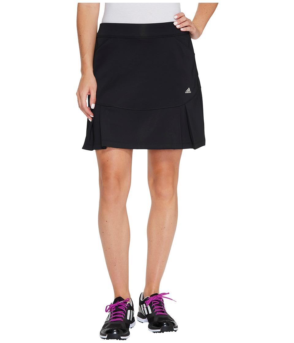 adidas Golf Pleated Fashion Skorts (Black) Women