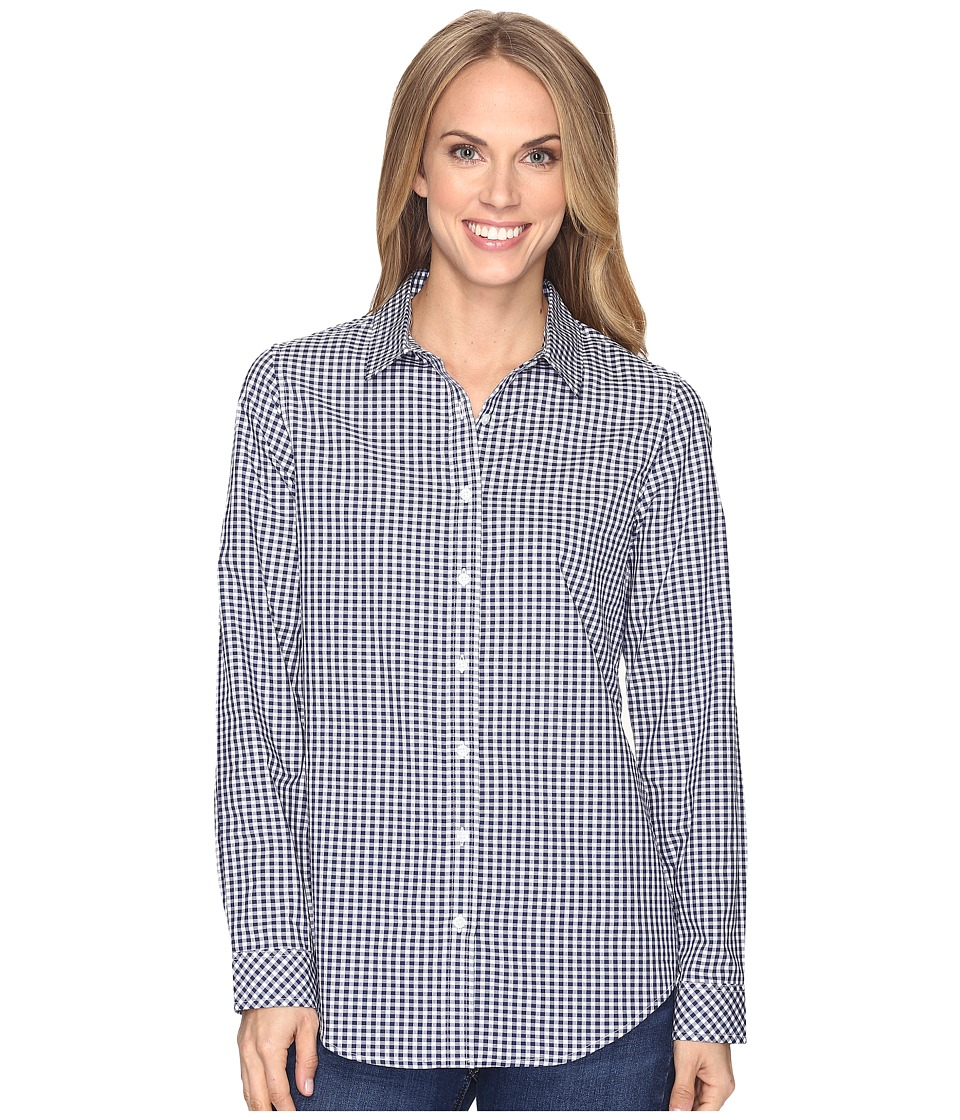 Pendleton - Gingham Shirt (Tartan Navy/White Gingham) Women's Clothing