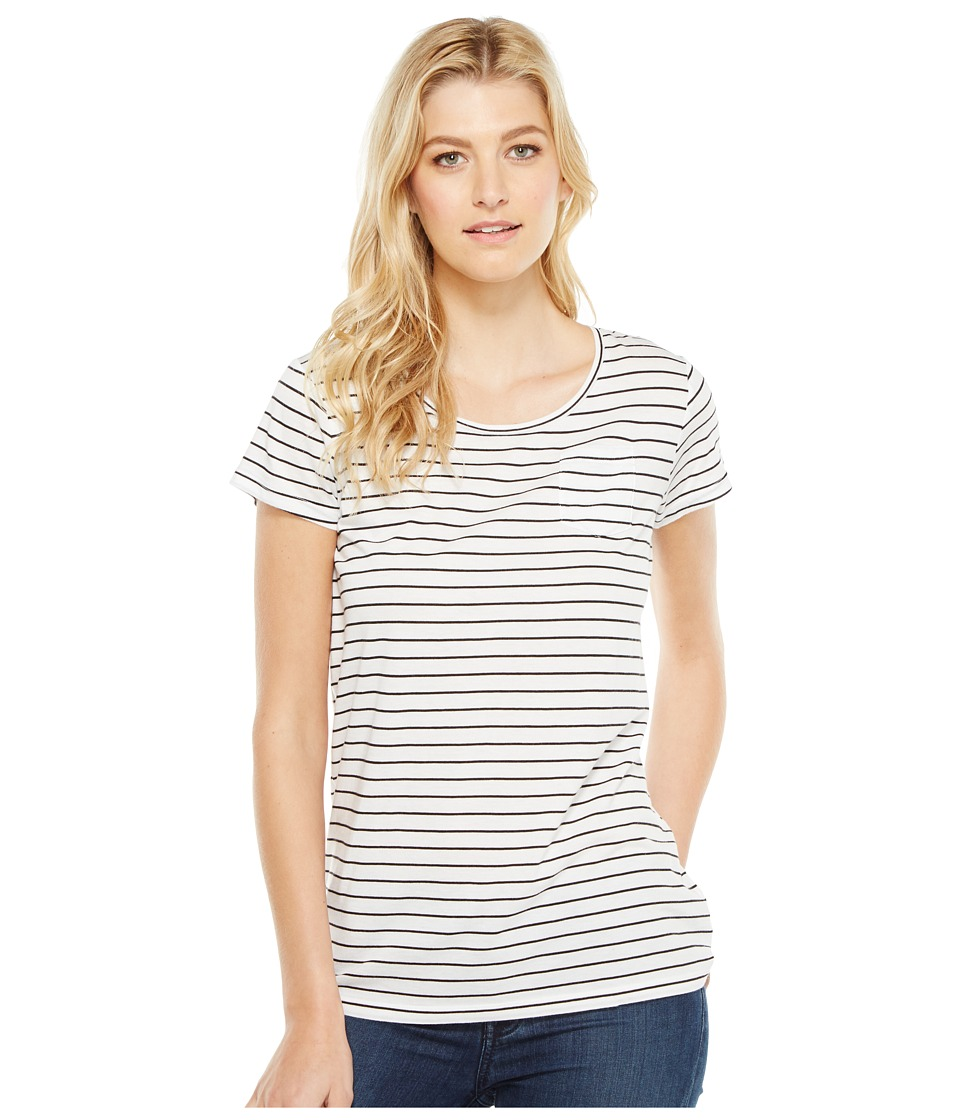 Pendleton - Summer Stripe Tee (White/Black) Women's T Shirt
