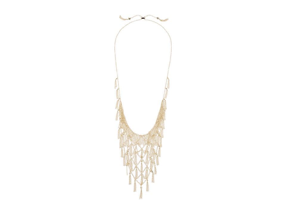 Kendra Scott - Georgina Bib Necklace (Gold/White CZ) Necklace