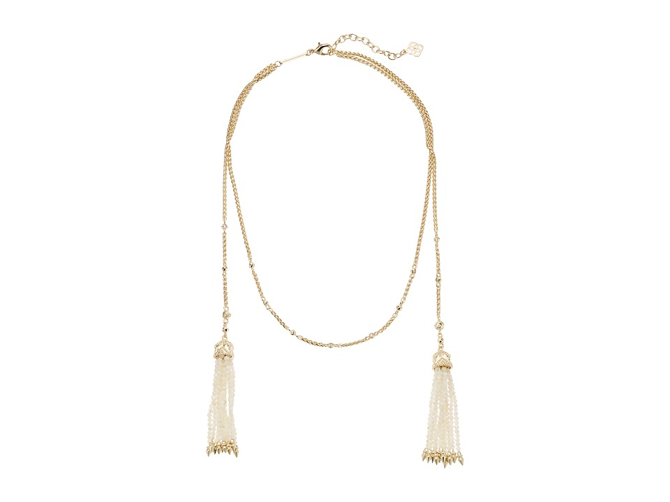 Kendra Scott - Monique Collar Necklace (Gold/Ivory Mother-of-Pearl/Ivory Mop Beads) Necklace