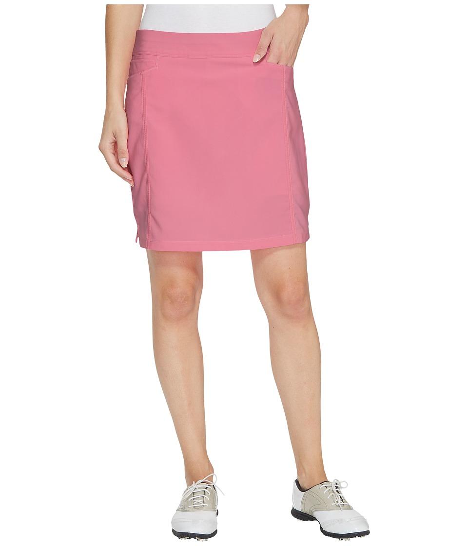 adidas Golf Ultimate Adistar Skort (Pink Glow) Women