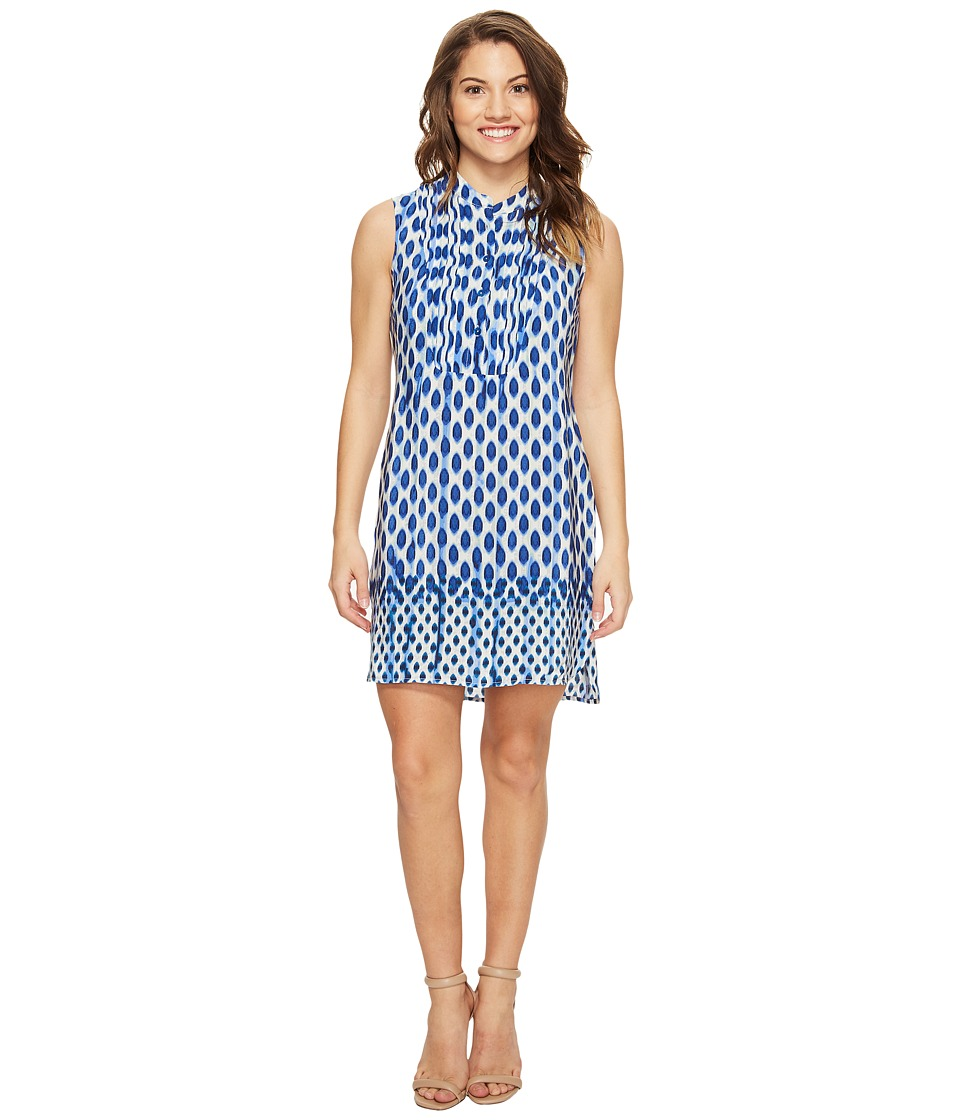 NIC+ZOE - Petite Falling Dots Tunic Dress (Multi) Women's Dress