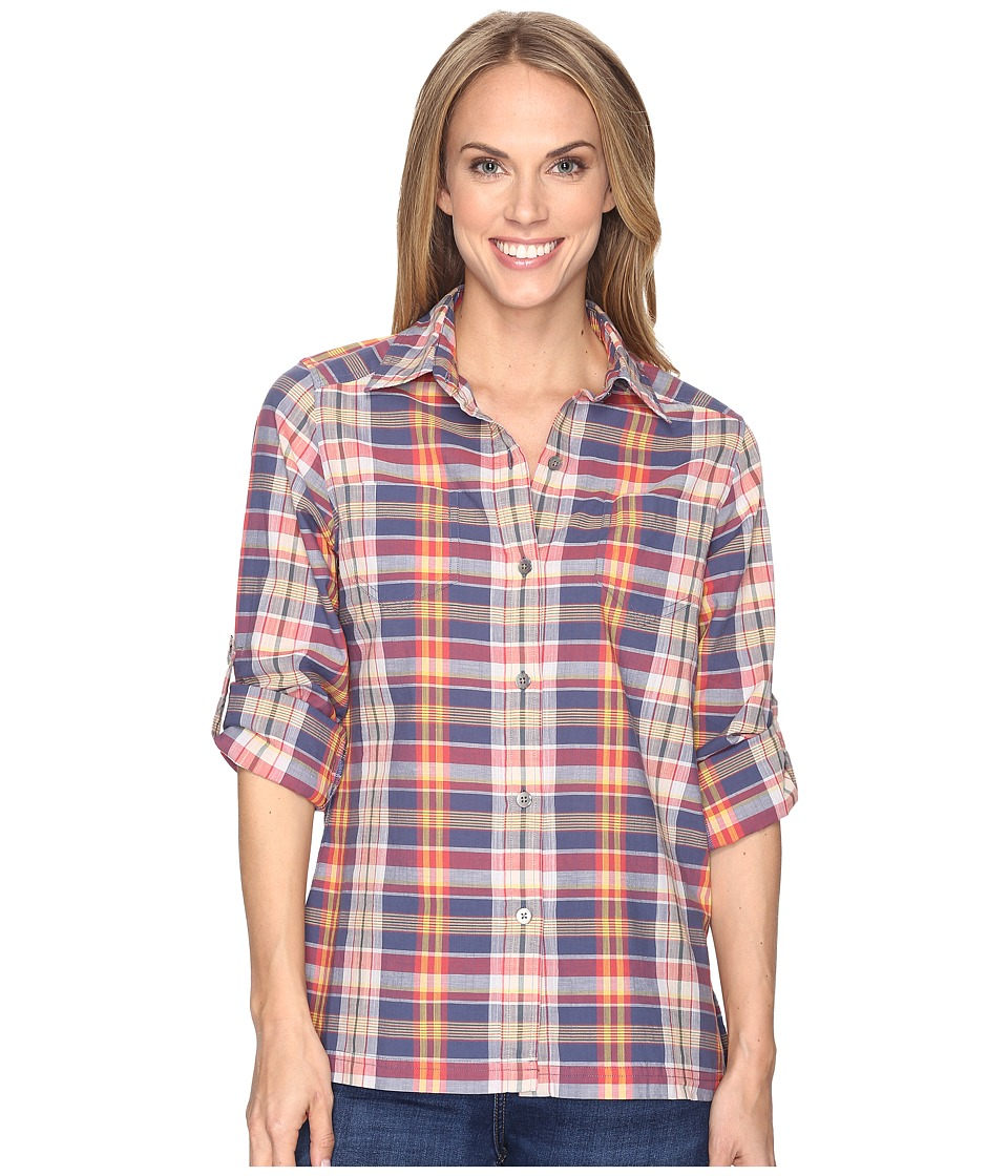 Pendleton - Astoria Plaid Shirt (Indigo Multi Plaid) Women's Long Sleeve Button Up