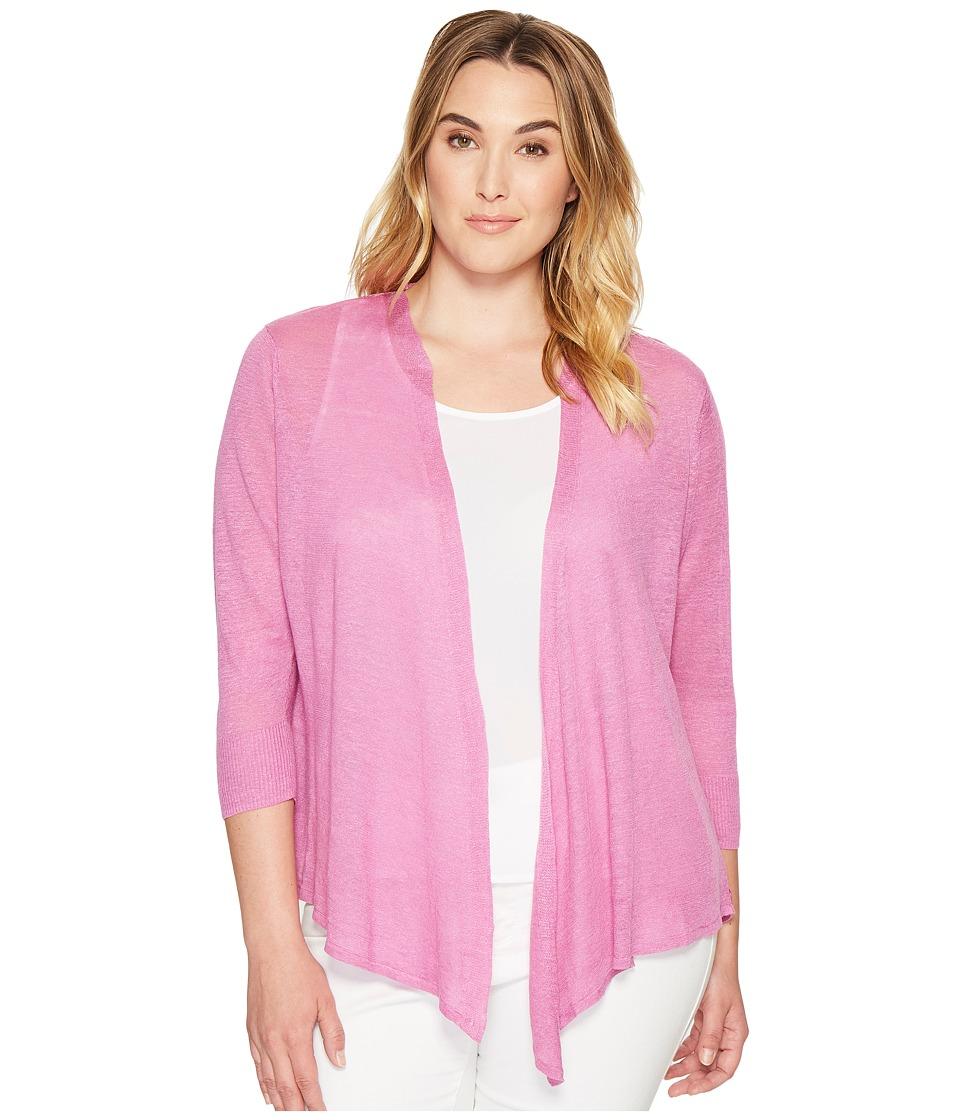 NIC+ZOE - Plus Size 4-Way Cardy (Clover) Women's Sweater