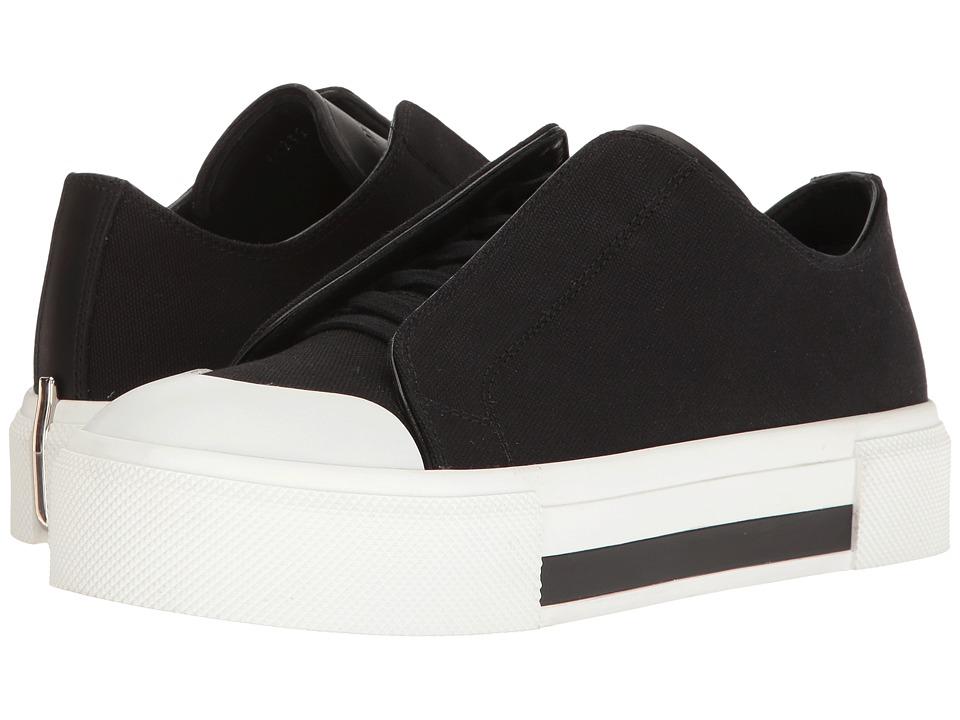 Alexander McQueen - Lace-Up Sneaker (Black/White/Black/Black) Women's Shoes