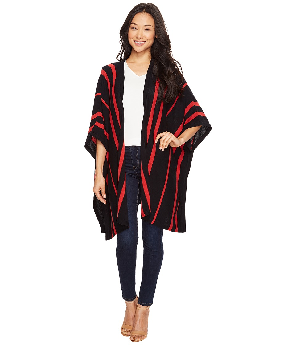 Pendleton - Madrona Cape (Vanilla/Black) Women's Clothing