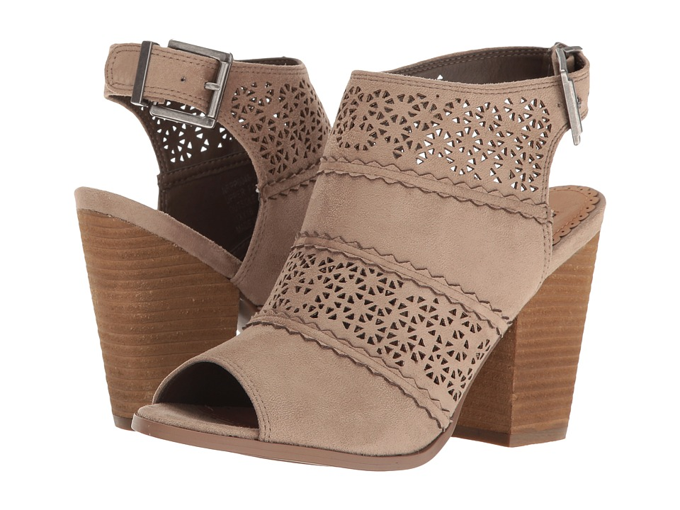 Not Rated Girl B Flossin (Taupe) High Heels