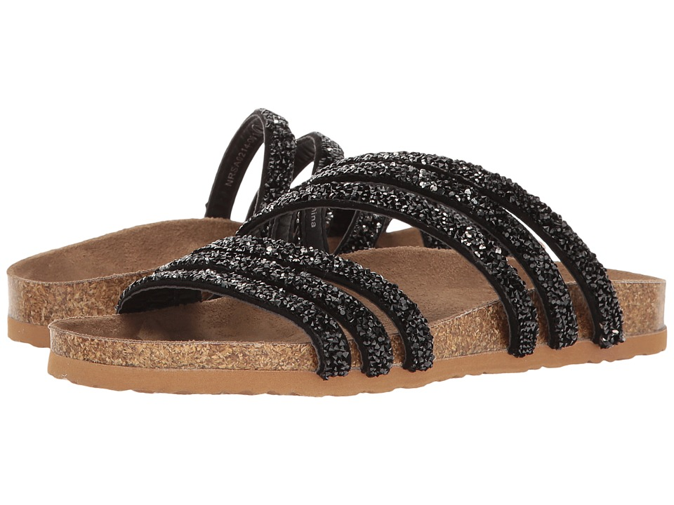 Not Rated - Very Bushey (Black) Women's Sandals