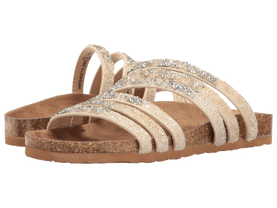 Not Rated - Very Bushey (Cream) Women's Sandals