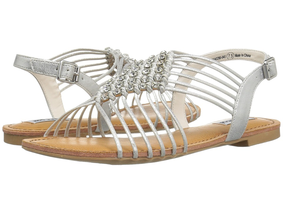 Not Rated - Iron Gate (Silver) Women's Sandals