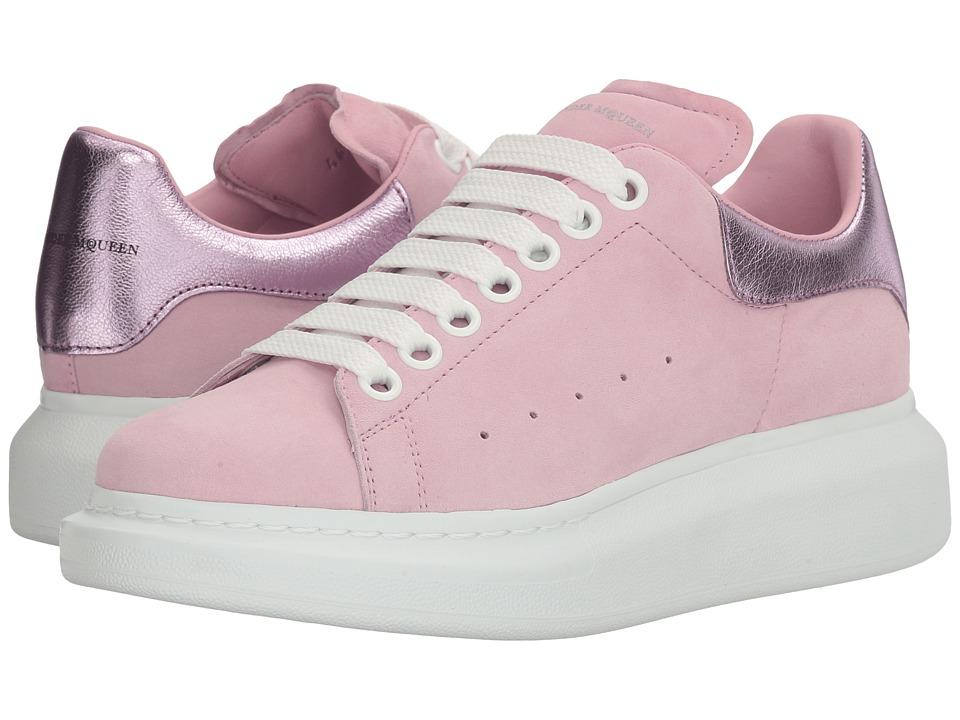 Alexander McQueen Sneaker Pelle S.Gomma (Clover/Pale Pink) Women