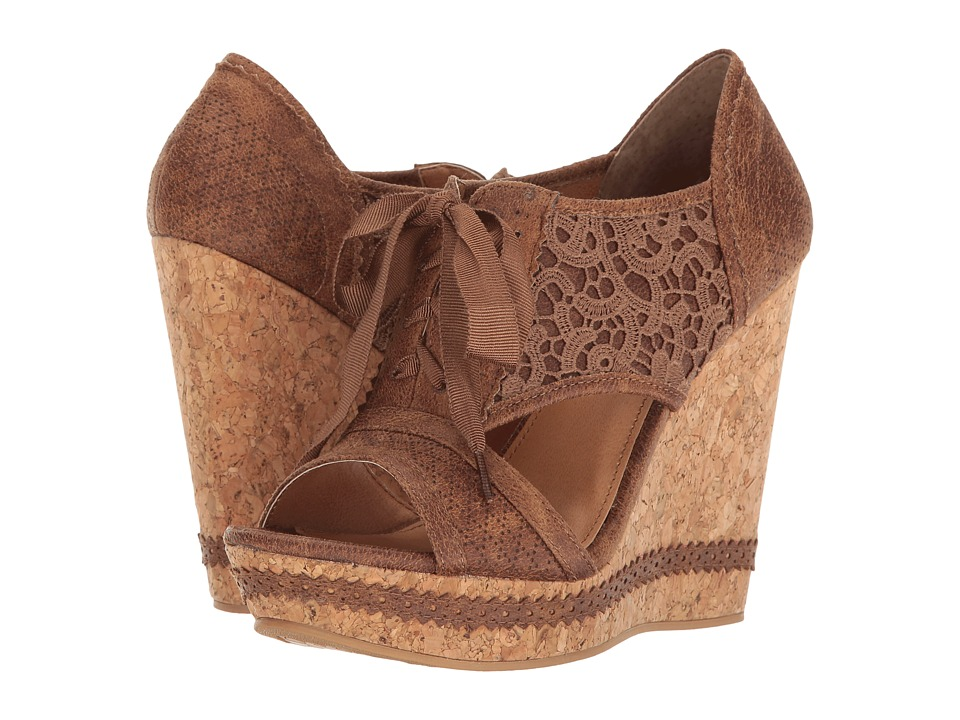 Not Rated - Addilyn (Tan) Women's Wedge Shoes