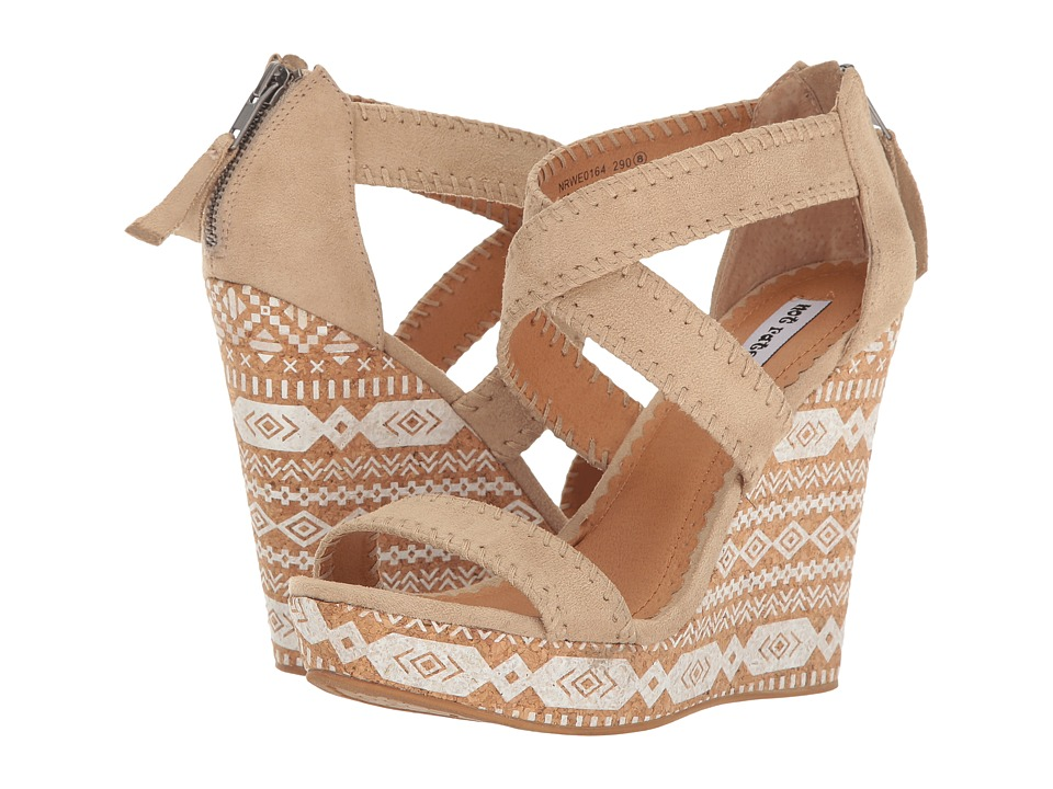 Not Rated - Remi (Cream) Women's Wedge Shoes