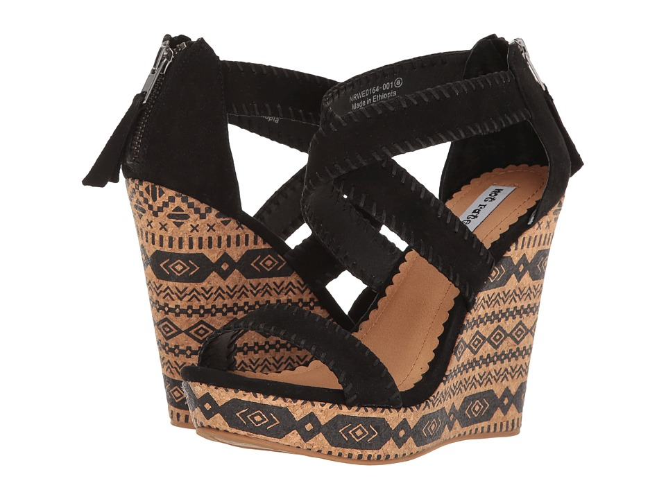 Not Rated - Remi (Black) Women's Wedge Shoes