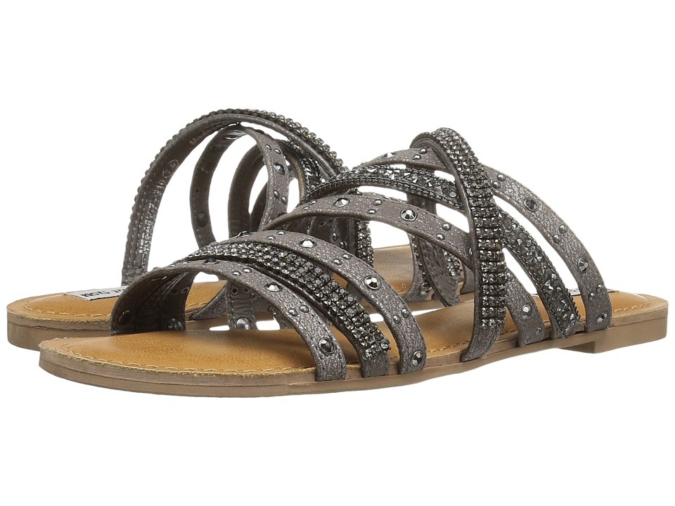 Not Rated - Caviar (Pewter) Women's Sandals
