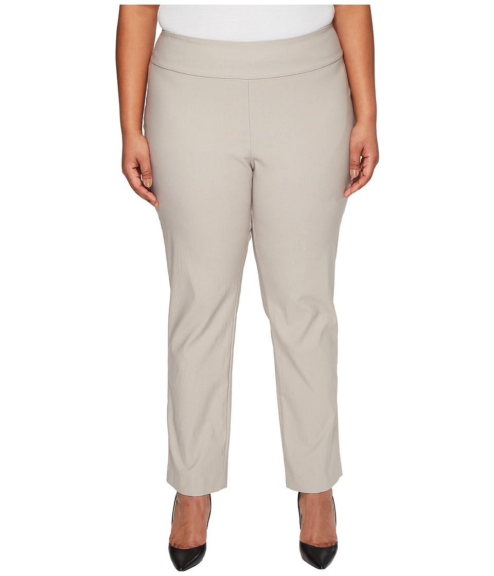 NIC+ZOE - Plus Size Wonderstretch Pants (French Linen) Women's Dress Pants