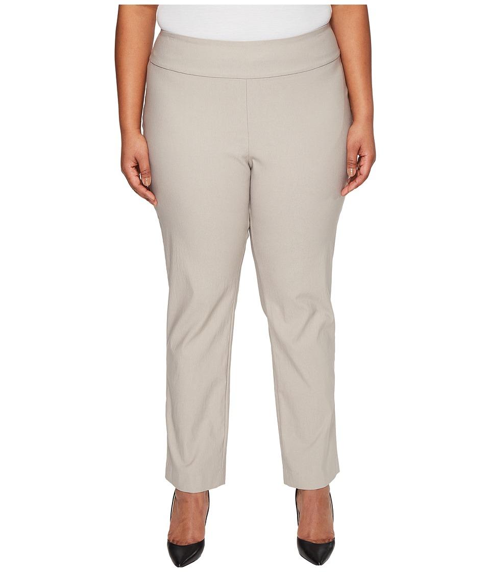 NIC+ZOE Plus Size Wonderstretch Pants French Linen Dress Pants