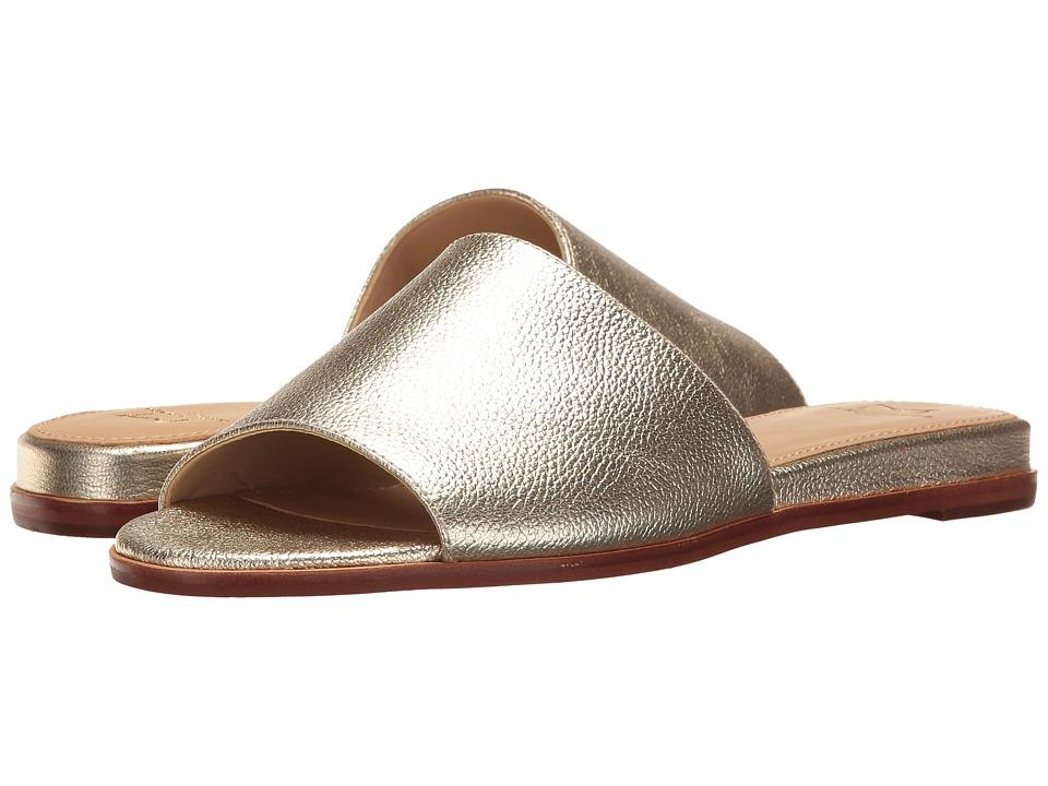 Marc Fisher LTD - Wyndi (Gold Leather) Women's Shoes