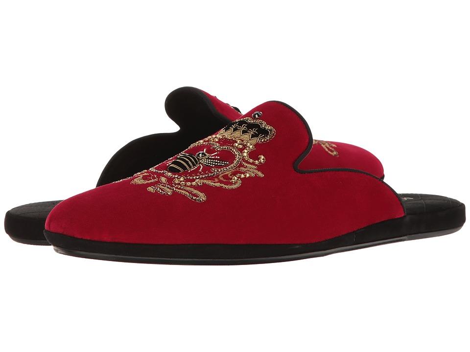 Dolce & Gabbana Ceremony Slip-On (Red/Black) Men