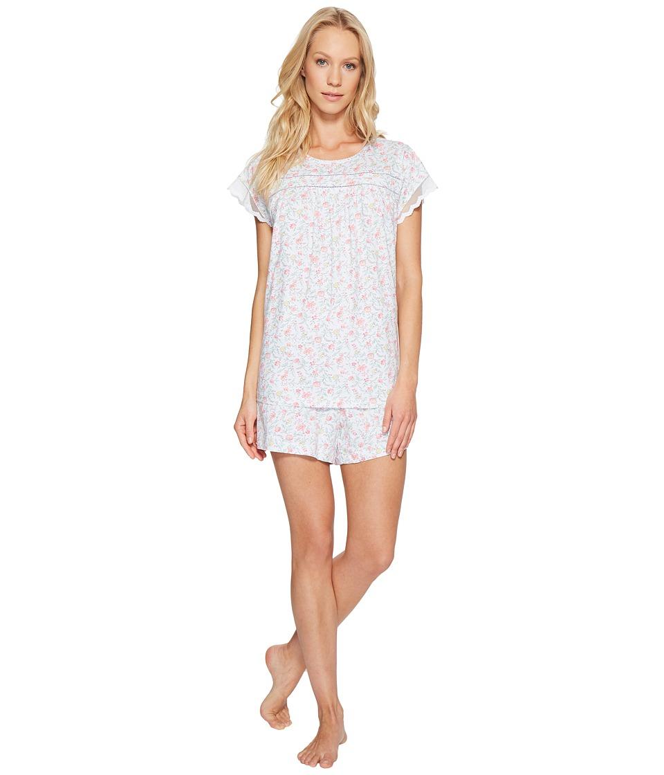 Carole Hochman - Short Boxer Pajama (Garden) Women's Pajama Sets