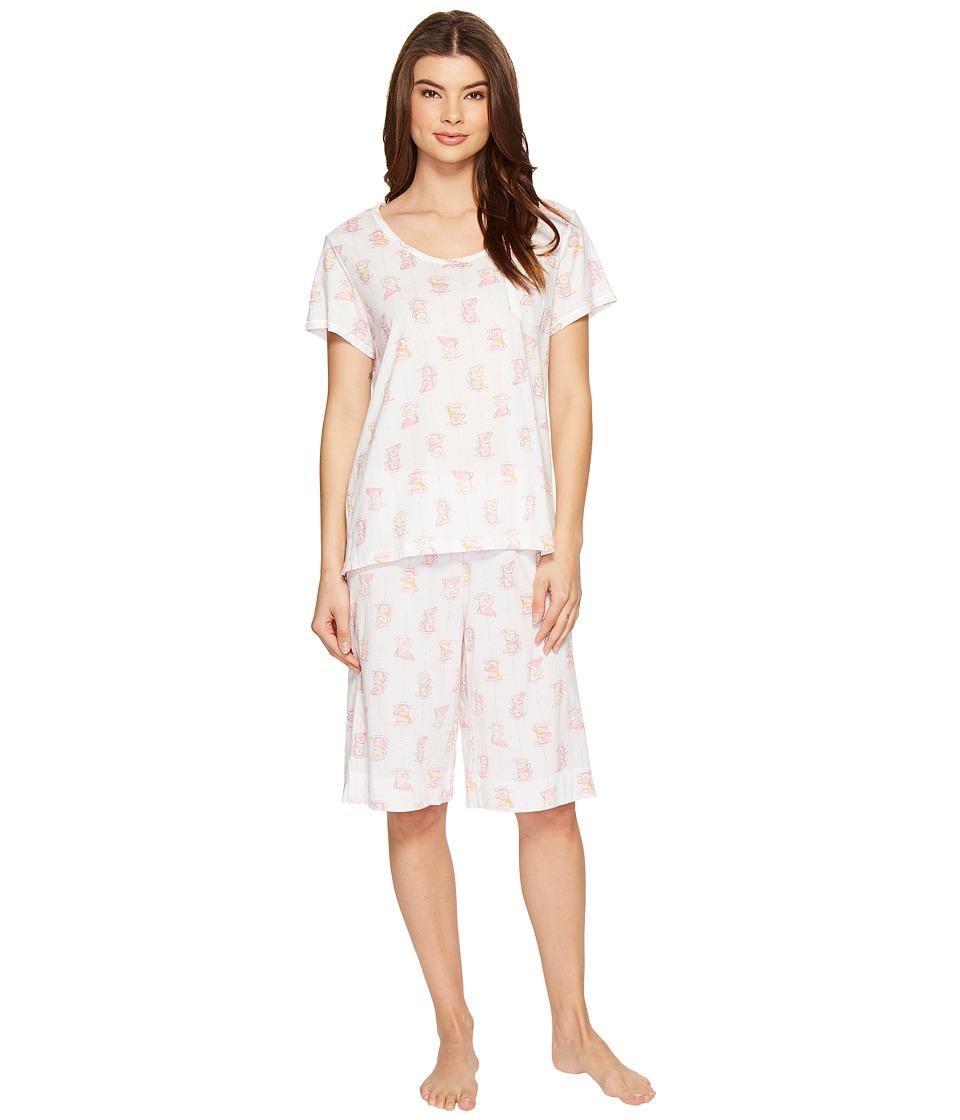 Carole Hochman - Key Item Bermuda Pajama (Cups) Women's Pajama Sets