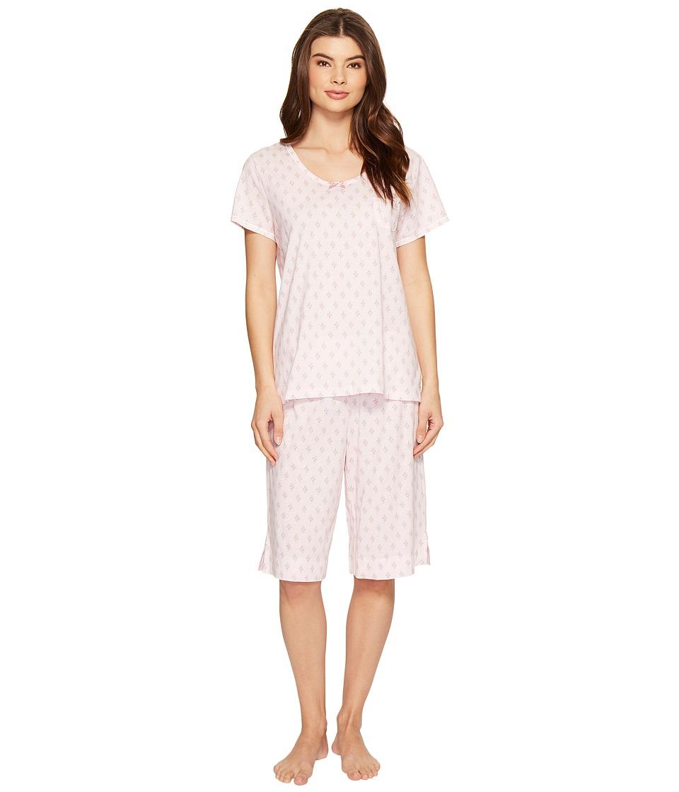 Carole Hochman - Key Item Bermuda Pajama (Bell Sprigs) Women's Pajama Sets