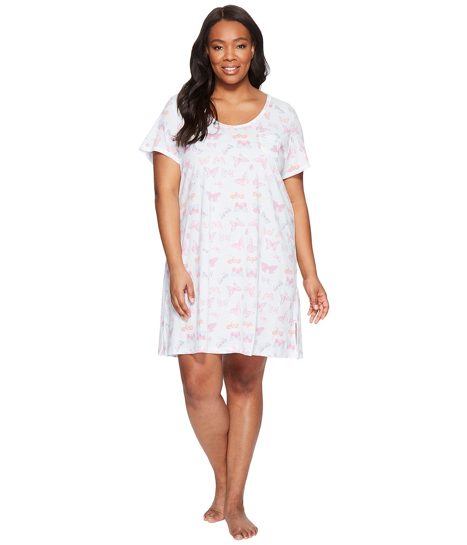 Carole Hochman - Plus Size Key Item Sleepshirt (Butterfly) Women's Pajama
