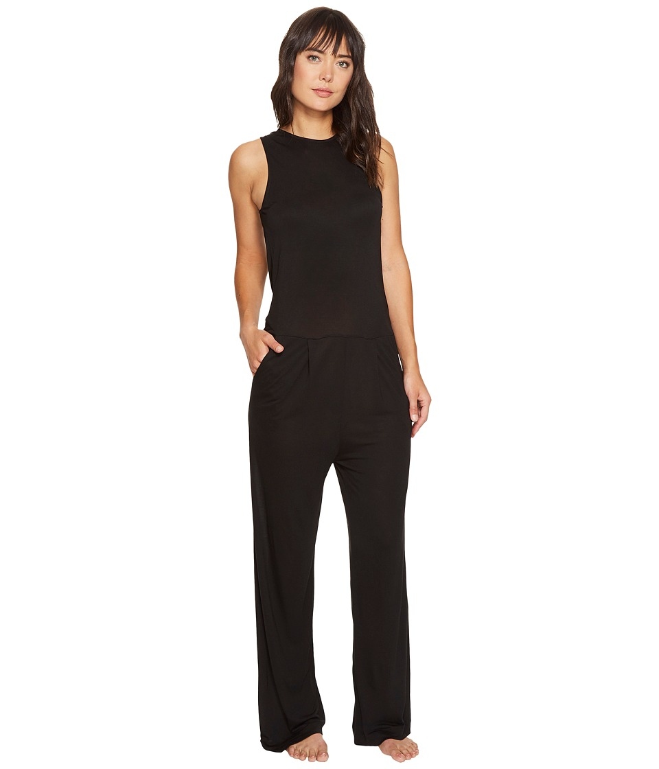 DKNY - Fashion Jumpsuit (Black) Women's Jumpsuit & Rompers One Piece